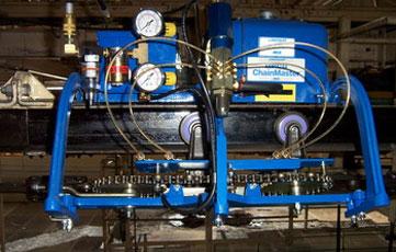 โครงการติดตั้งระบบหล่อลื่นโซ่และสายพานลำเลียงในสายการประกอบรถยนต์ Assembly Line